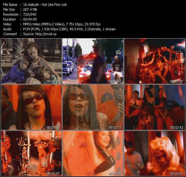 Aaliyah - Hot Like Fire