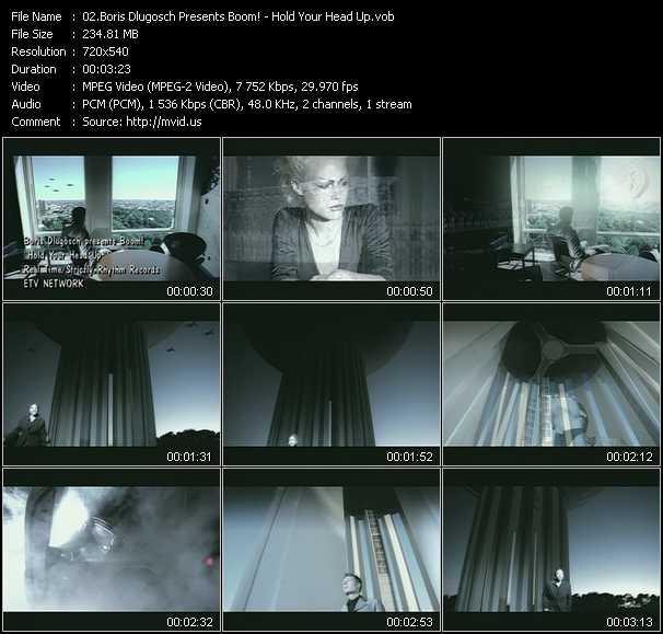 Boris Dlugosch Presents Boom! - Hold Your Head Up