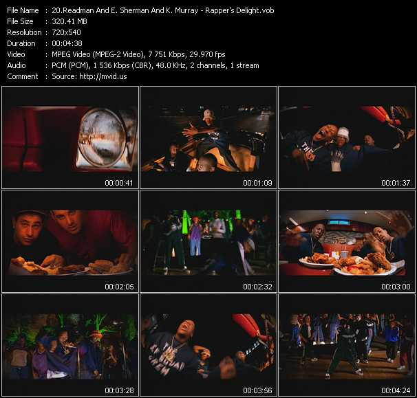 Erick Sermon, Keith Murray And Redman - Rapper's Delight