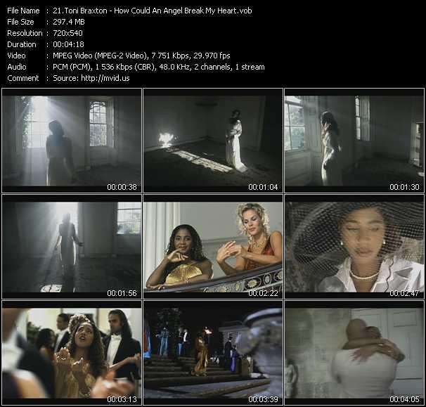 Toni Braxton - How Could An Angel Break My Heart
