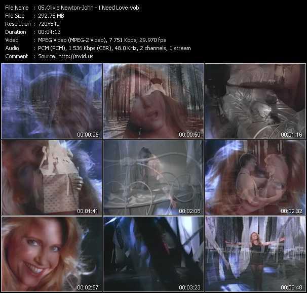 Olivia Newton-John - I Need Love