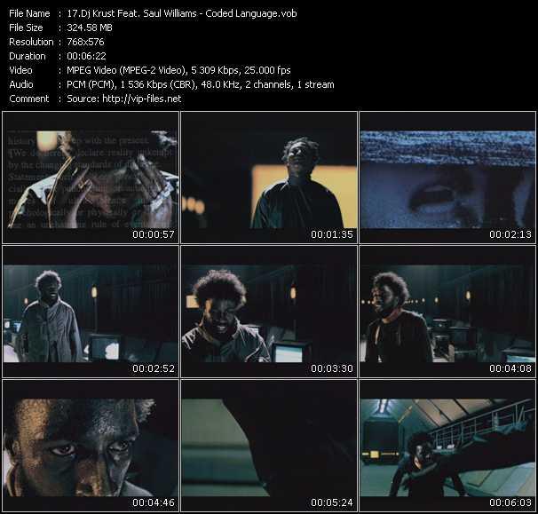 Dj Krust Feat. Saul Williams - Coded Language