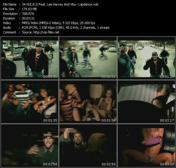 N.E.R.D. Feat. Lee Harvey And Vita - Lap Dance