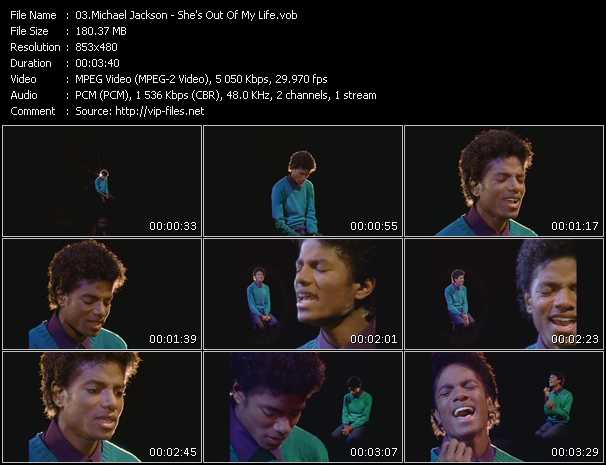 Michael Jackson - She's Out Of My Life