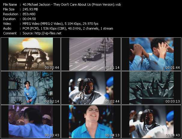 Michael Jackson - They Don't Care About Us (Prison Version)