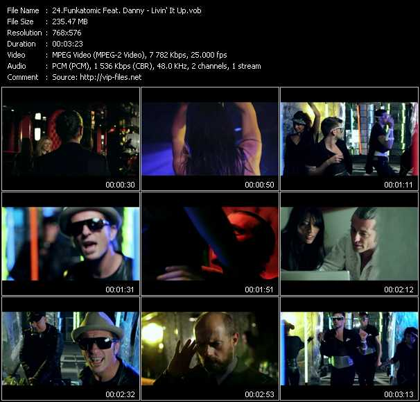 Funkatomic Feat. Danny - Livin' It Up