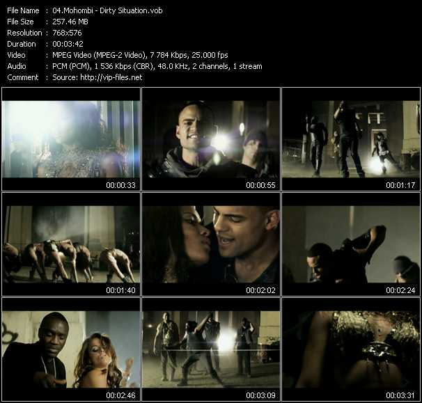 Mohombi - Dirty Situation