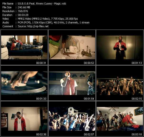 B.O.B. Feat. Rivers Cuomo - Magic