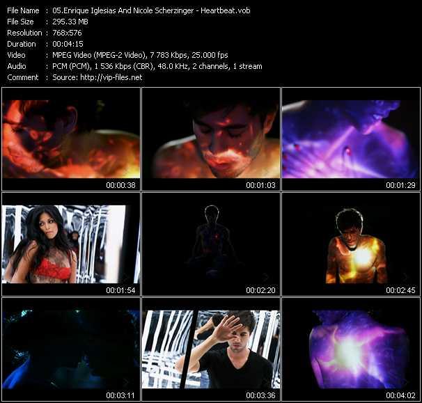 Enrique Iglesias And Nicole Scherzinger - Heartbeat