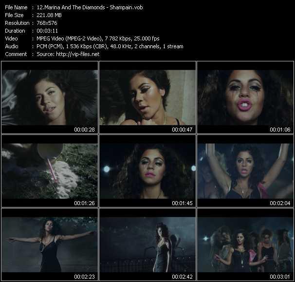 Marina And The Diamonds - Shampain