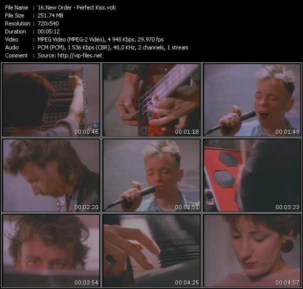 New Order - Perfect Kiss
