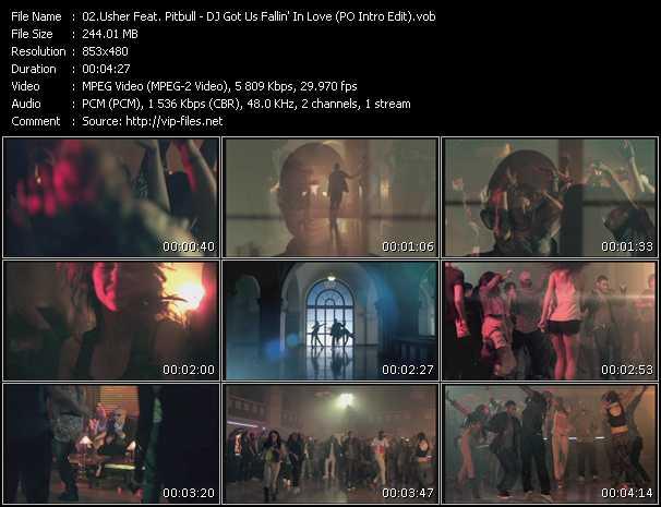 Usher Feat. Pitbull - DJ Got Us Fallin' In Love (PO Intro Edit)