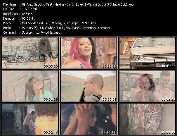 Alex Gaudino Feat. Maxine - I'm In Love (I Wanna Do It) (PO Intro Edit)