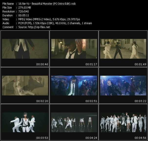 Ne-Yo - Beautiful Monster (PO Intro Edit)