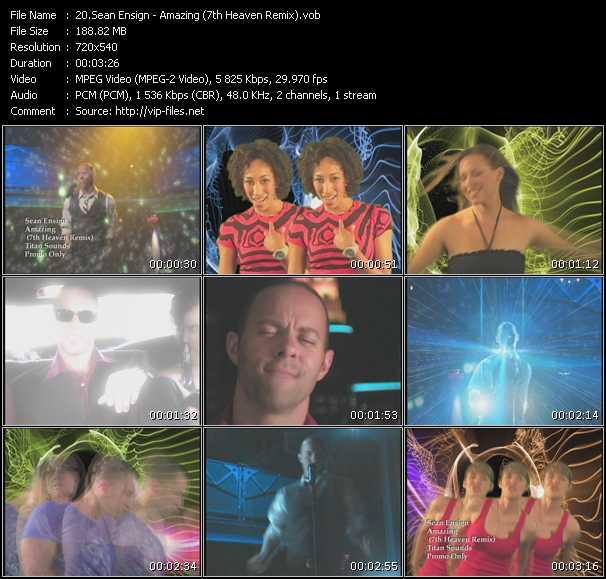 Sean Ensign - Amazing (7th Heaven Remix)