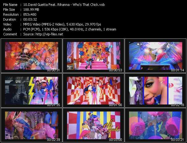 David Guetta Feat. Rihanna - Who's That Chick?