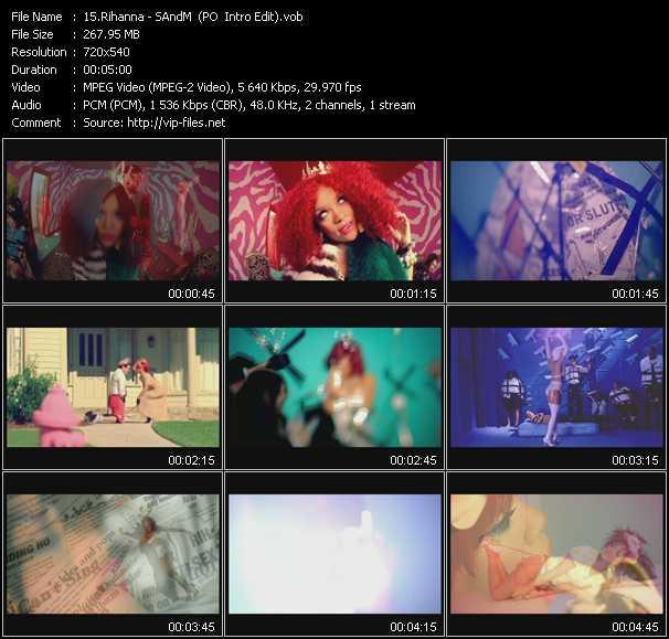 Rihanna - S And M (PO Intro Edit)