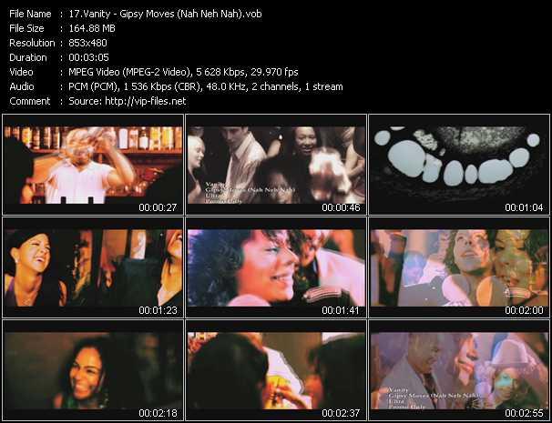 Vanity - Gipsy Moves (Nah Neh Nah)