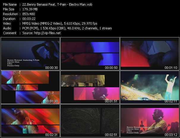 Benny Benassi Feat. T-Pain - Electro Man