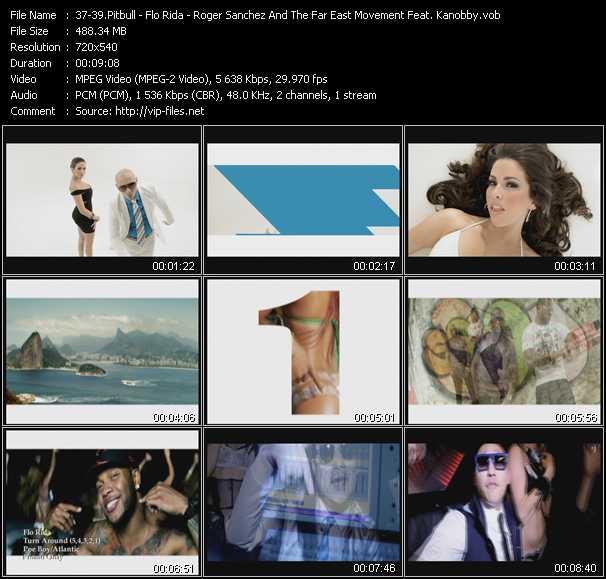 Pitbull - Flo Rida - Roger Sanchez And The Far East Movement Feat. Kanobby - Bon, Bon - Turn Around (5,4,3,2,1) - 2Gether