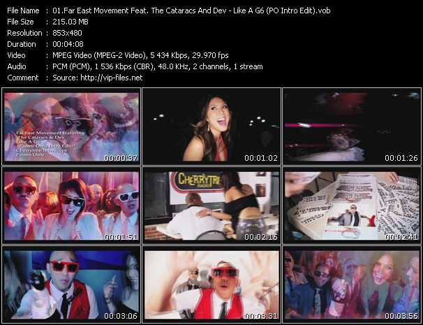 Far East Movement Feat. The Cataracs And Dev - Like A G6 (PO Intro Edit)