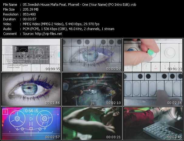 Swedish House Mafia Feat. Pharrell Williams - One (Your Name) (PO Intro Edit)