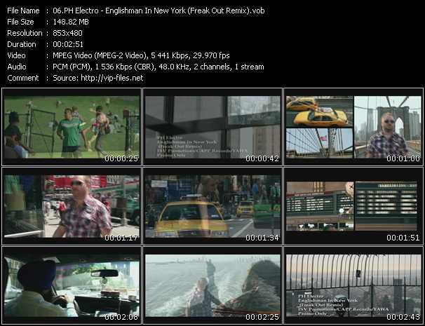 Ph Electro - Englishman In New York (Freak Out Remix)