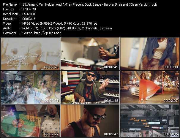 Armand Van Helden And A-Trak Present Duck Sauce - Barbra Streisand (Clean Version)