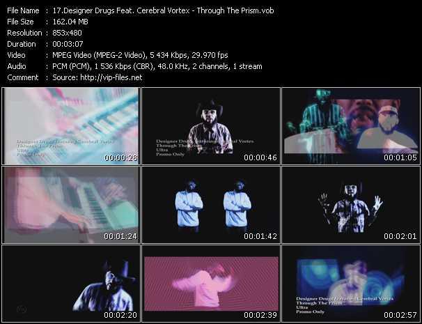 Designer Drugs Feat. Cerebral Vortex - Through The Prism