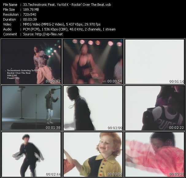 Technotronic Feat. Ya Kid K - Rockin' Over The Beat
