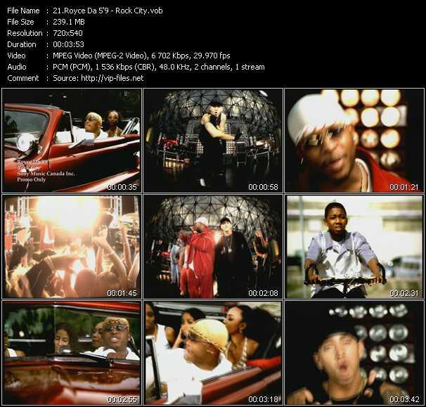 Royce Da 5'9'' - Rock City