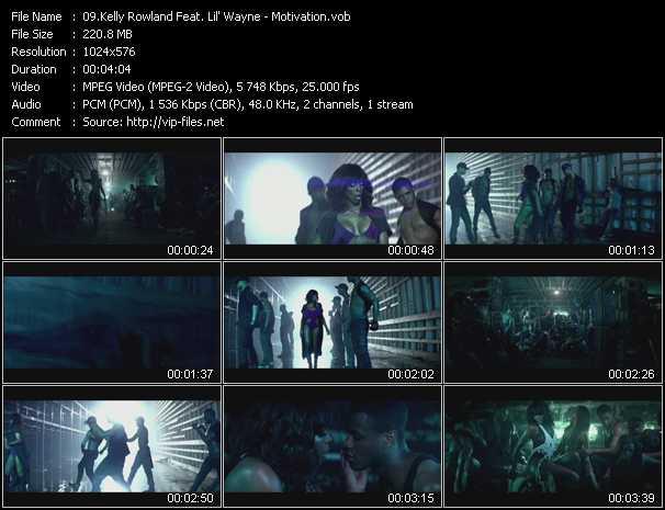Kelly Rowland Feat. Lil' Wayne - Motivation