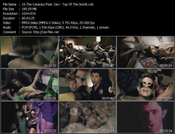 Cataracs Feat. Dev - Top Of The World