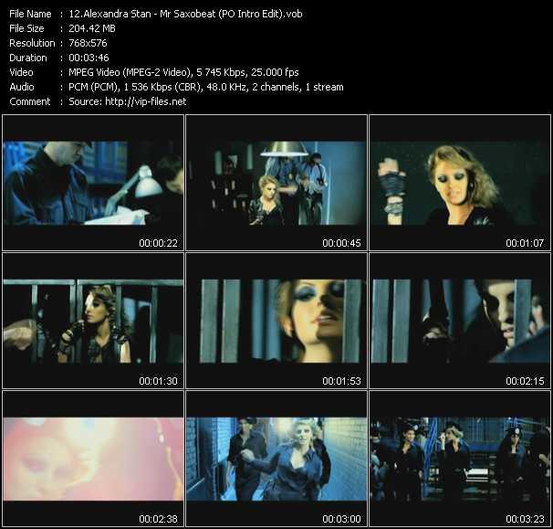 Alexandra Stan - Mr Saxobeat (PO Intro Edit)