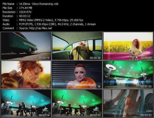 Elena (Elena Gheorghe) - Disco Romancing