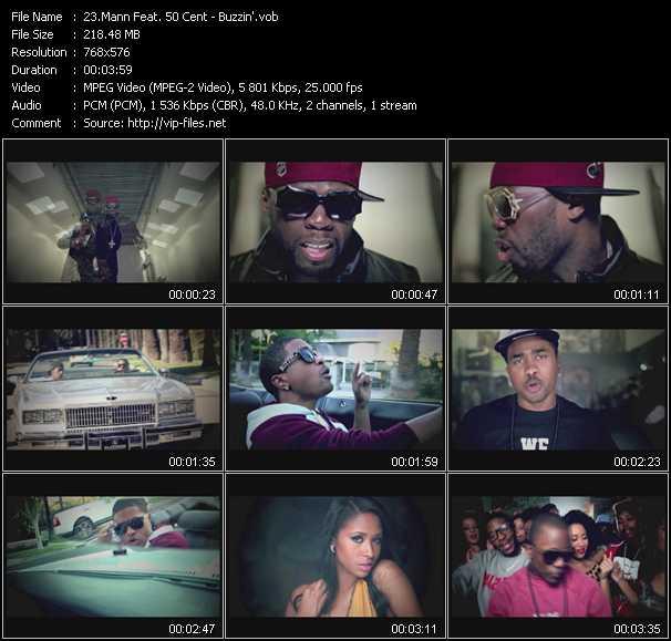 Mann Feat. 50 Cent - Buzzin'