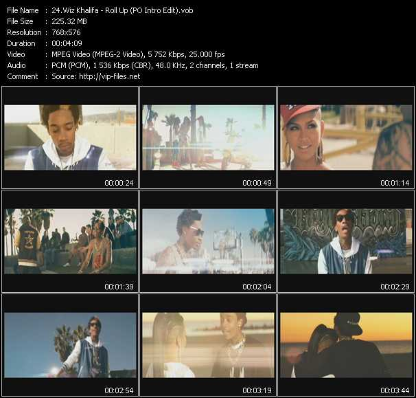 Wiz Khalifa - Roll Up (PO Intro Edit)
