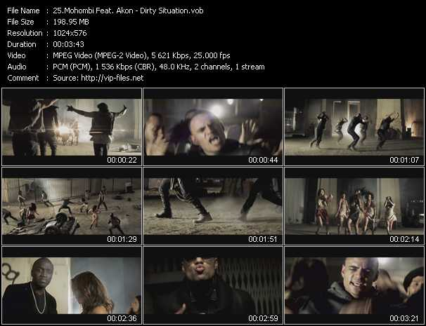 Mohombi Feat. Akon - Dirty Situation
