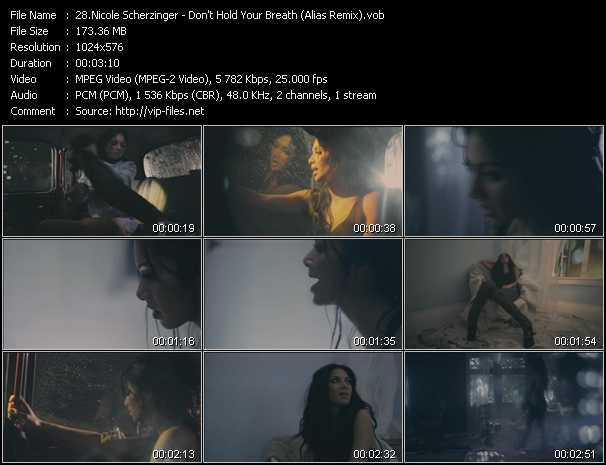 Nicole Scherzinger - Don't Hold Your Breath (Alias Remix)
