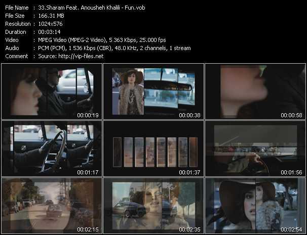 Sharam Feat. Anousheh Khalili - Fun