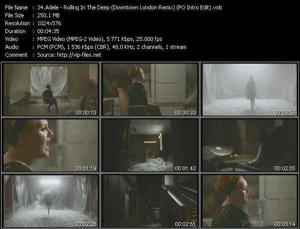 Adele - Rolling In The Deep (Downtown London Remix) (PO Intro Edit)