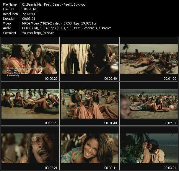 Beenie Man Feat. Janet Jackson - Feel It Boy