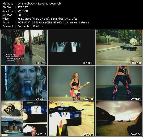 Sheryl Crow - Steve McQueen