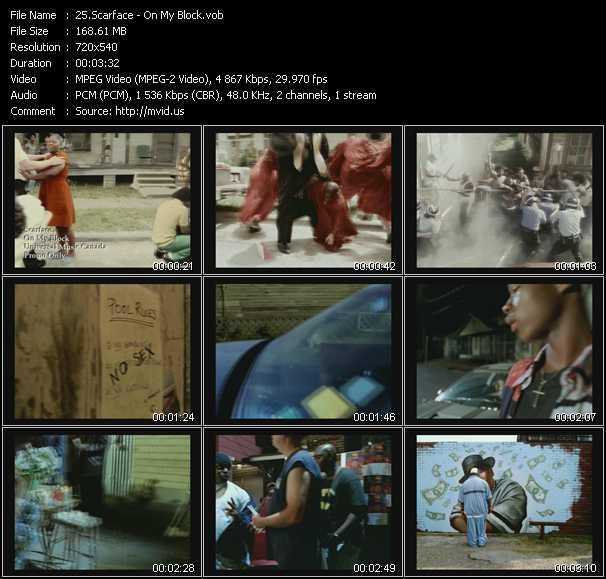 Scarface - On My Block