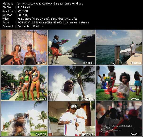 Trick Daddy Feat. Cee Lo Green And Big Boi - In Da Wind