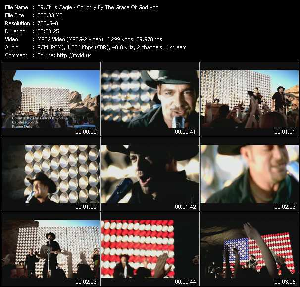 Chris Cagle - Country By The Grace Of God