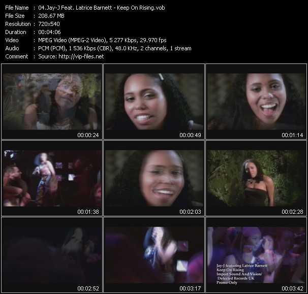 Jay-J Feat. Latrice Barnett - Keep On Rising