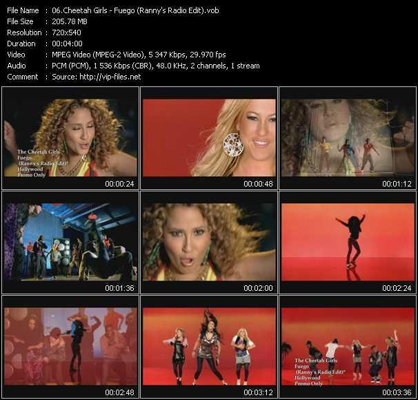 Cheetah Girls - Fuego (Ranny's Radio Edit)
