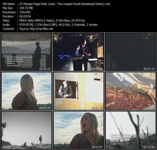 Morgan Page Feat. Lissie - The Longest Road (Deadmau5 Remix)