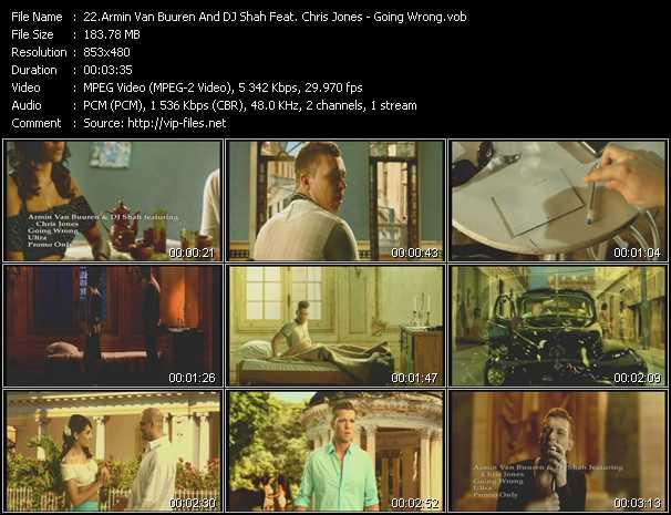 Armin Van Buuren And Dj Shah Feat. Chris Jones - Going Wrong